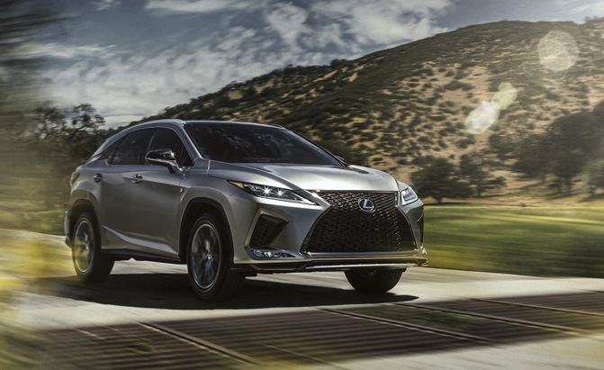 2020 Lexus Rx Debuts Finally Gets Android Auto And A Touchscreen