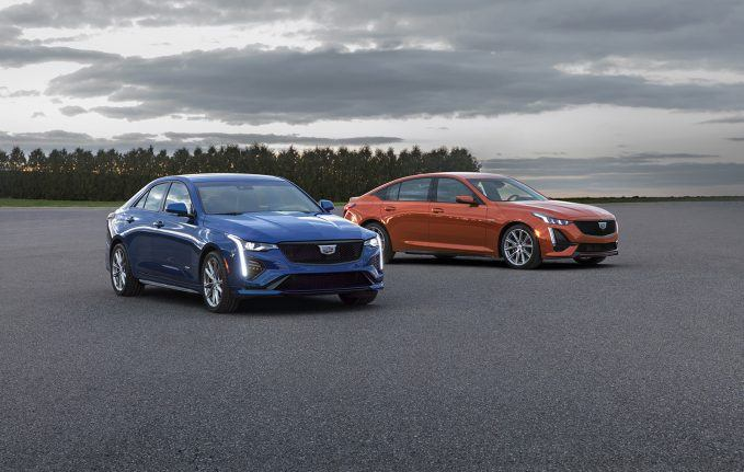 Cadillac Debuts CT4-V and CT5-V with Super Cruise, Available AWD
