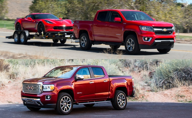 Canyon Vs Colorado >> Chevy Colorado Vs Gmc Canyon How Are The Trucks Different
