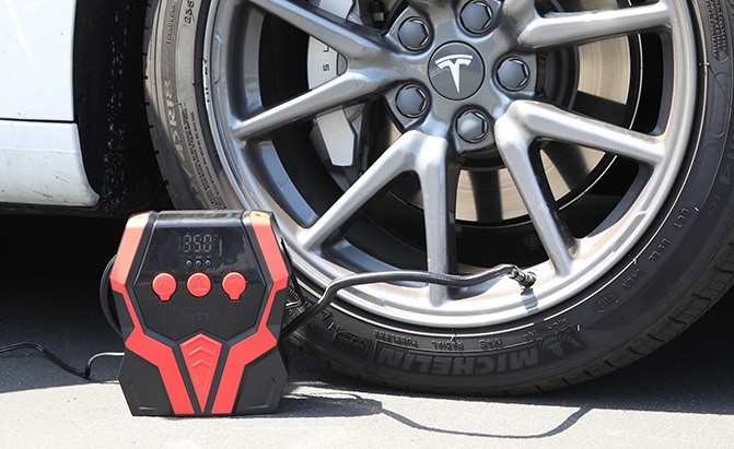 audew portable tire inflator review