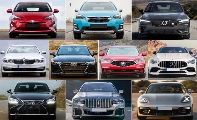 Top 10 Hybrids With Awd