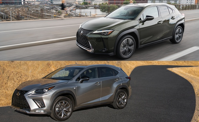 Lexus Ux Vs Nx Which Small Crossover Is Right For You