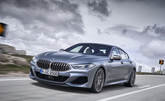BMW 8 Series Gran Coupe front