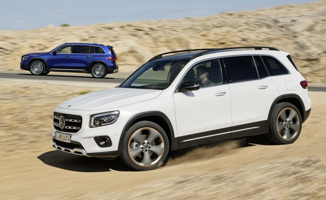 Mercedes GLB Debuts with Optional Room for 7