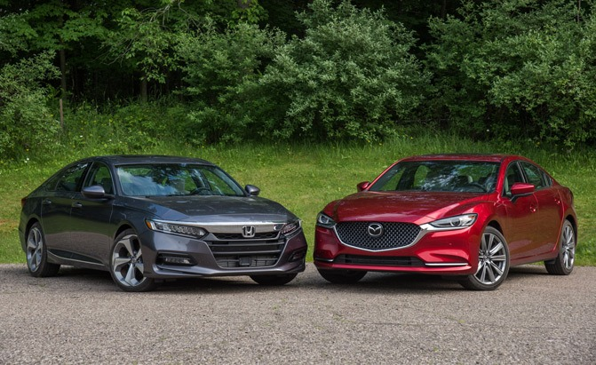 2019 Honda Accord vs. Mazda6 Sedan Comparison – VIDEO