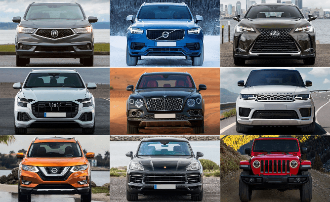 Hybrid Crossovers and Trucks with All-Wheel Drive