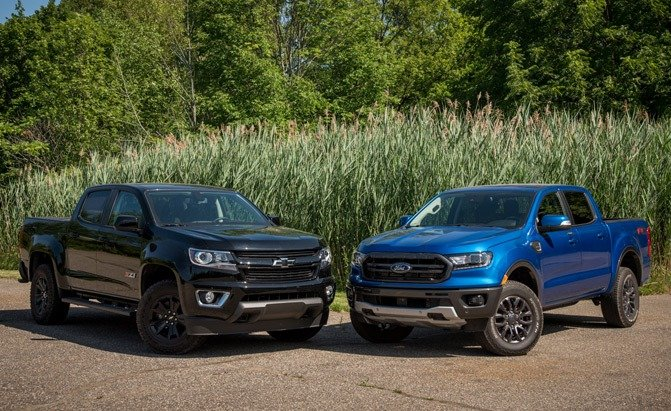 2019 Chevrolet Colorado Z71 vs. Ford Ranger FX4 Comparison – VIDEO