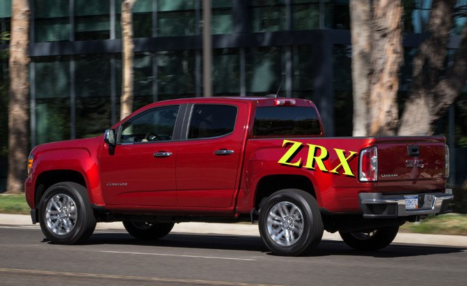 GMC May Bring Back ZRX Street Truck