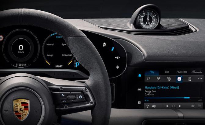 Porsche Taycan Interior 19 Things You Need To Know Autoguide Com News