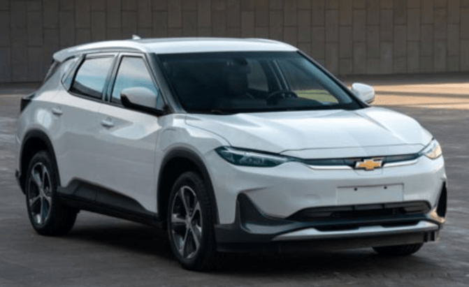 Chevy Bolt EUV Revealed as Chevy Menlo in China