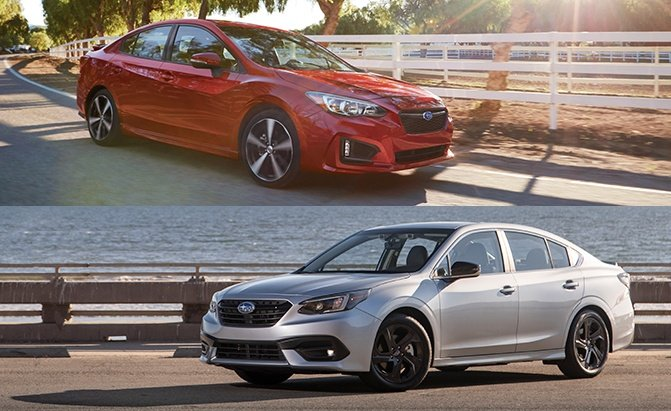 Subaru Impreza vs Legacy Comparison