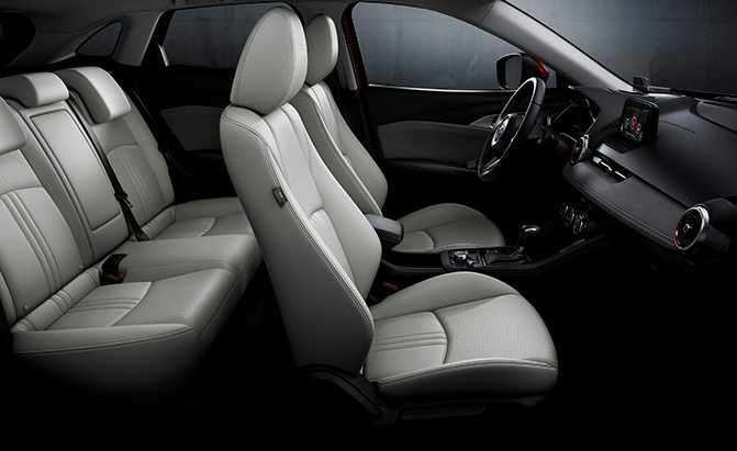 2019 mazda cx-3 cabin space