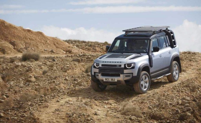 2020 Land Rover Defender Delivers Retro Style, Modern Tech