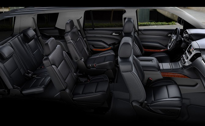 chevrolet tahoe cabin space