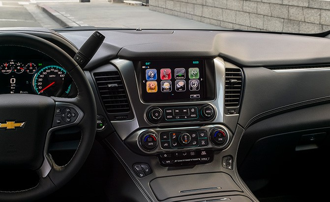 chevrolet tahoe technology