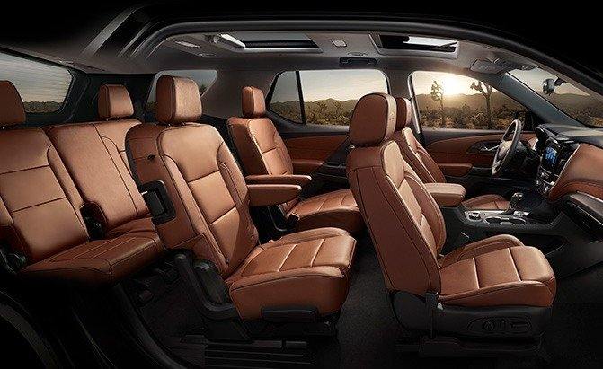 chevrolet traverse cabin space