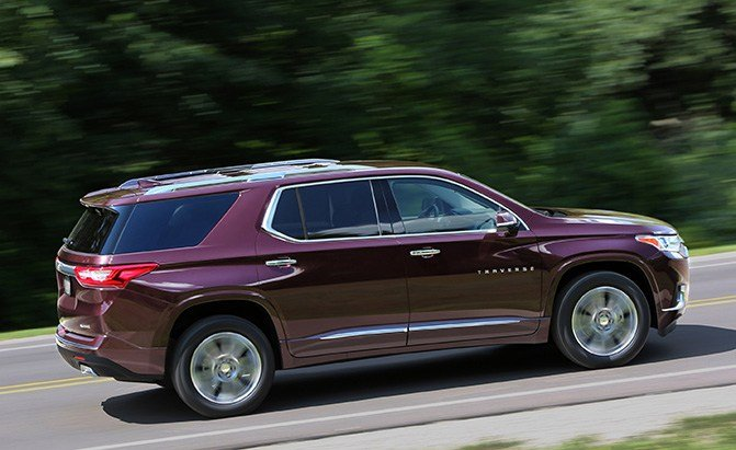 chevrolet traverse powertrain