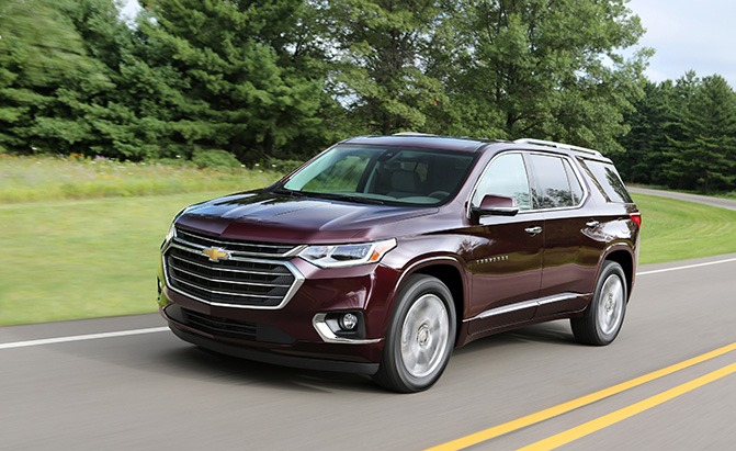 chevrolet traverse pricing