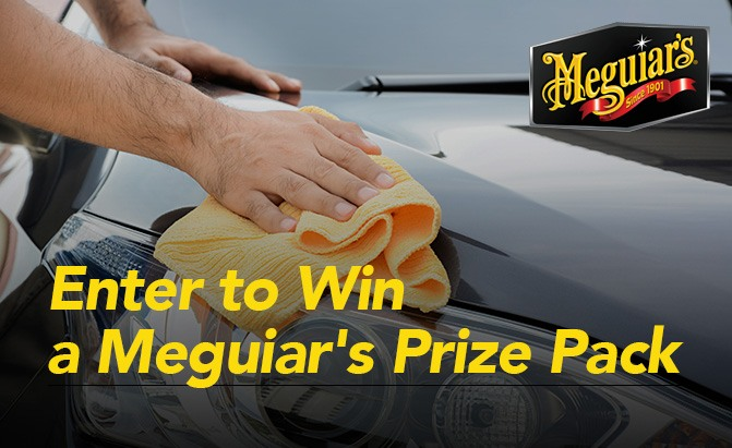 Giveaway: Win a Meguiar's Prize Pack