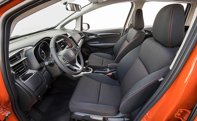 honda fit cabin space