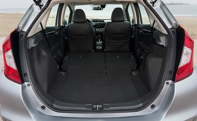 honda fit cargo capacity