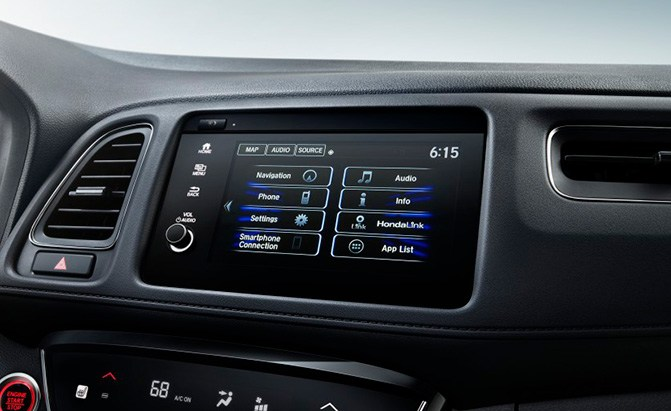 honda hr-v technology