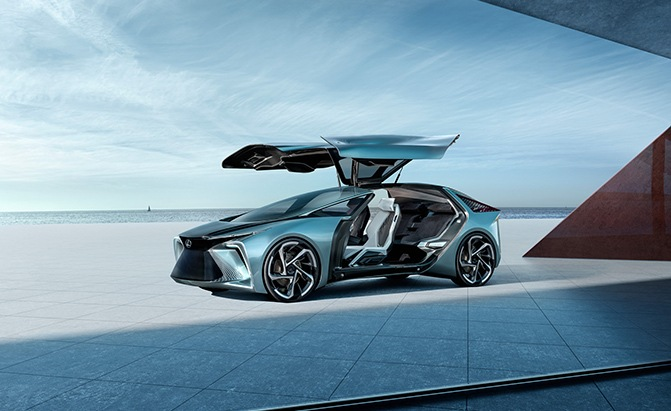 Lexus LF-30 Hints at Brand's First EV