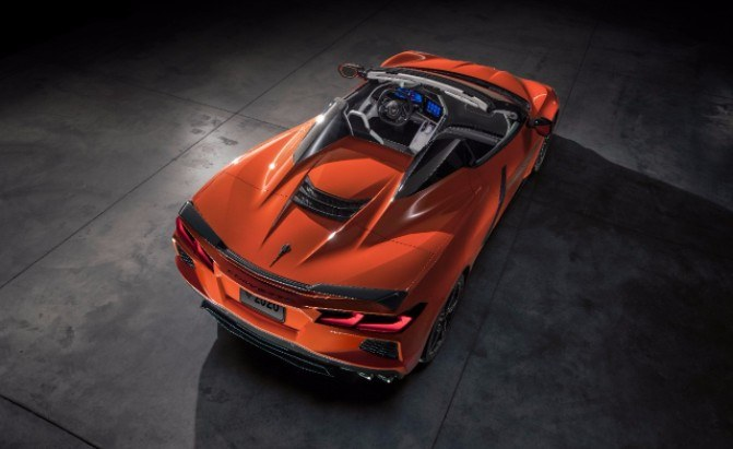 2020 Chevrolet Corvette Convertible Revealed With Retractable Hardtop