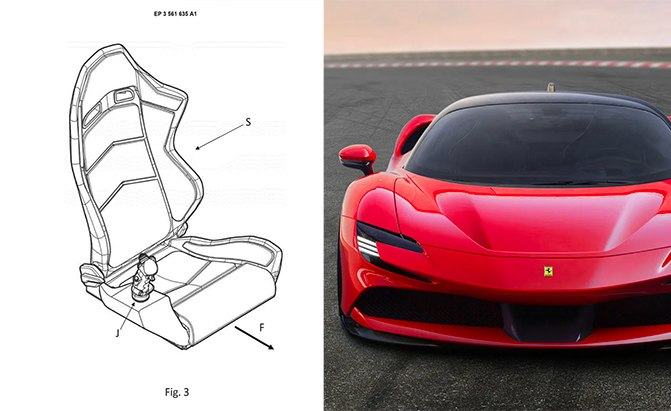 Ferrari Joystick Patent Gives Whole New Meaning to 'Driving Stick'