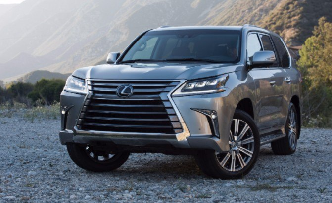 Lexus LX600 Planned as New Range Topping SUV