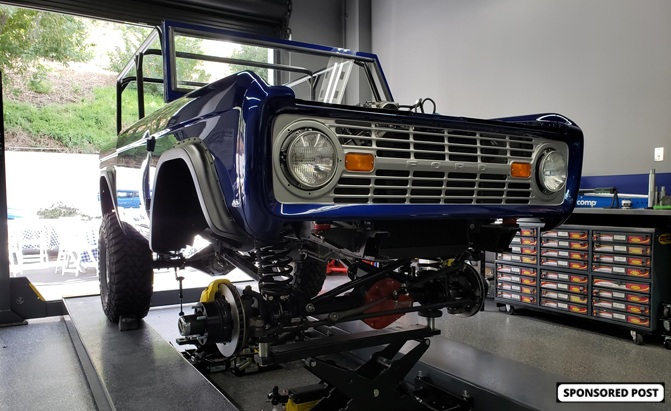 WD-40 and SEMA Cares are Rebuilding a Classic 1966 Ford Bronco for SEMA 2019