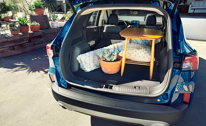 ford escape cargo capacity