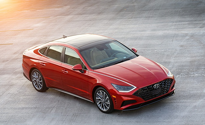 2020 Hyundai Sonata Starts At $24,330, SmartSense Offered As Standard