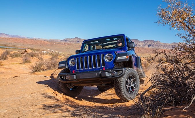 2020 Jeep Wranger EcoDiesel Packs Big Torque