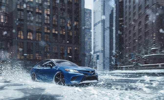2020 Toyota Camry and 2021 Avalon Gain All-Wheel Drive Options