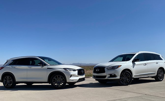 Infiniti QX50 vs Infiniti QX60 Comparison