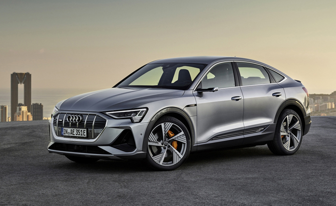 Audi Gives the E-Tron a Sportback Variant