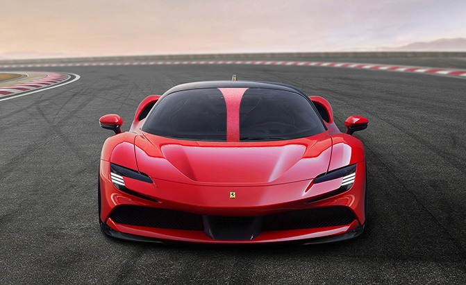 New Ferrari Patent Hints at Halo Design for Road Cars