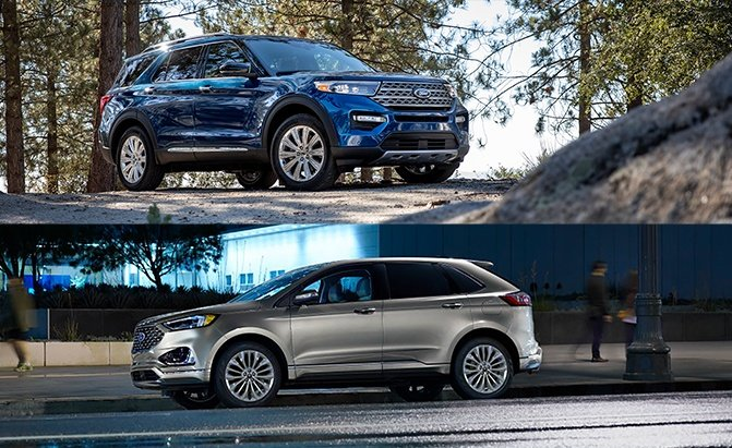 Edge Vs Explorer >> 2020 Ford Edge Vs 2020 Ford Explorer Comparison Autoguide Com