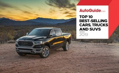 The 10 Best-Selling Cars of 2019 Mostly Weren't Cars