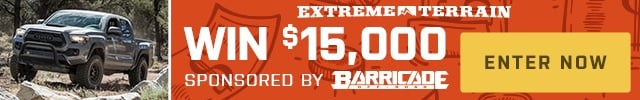 Enter to win this $15,000 parts giveaway from Barricade Off-Road.