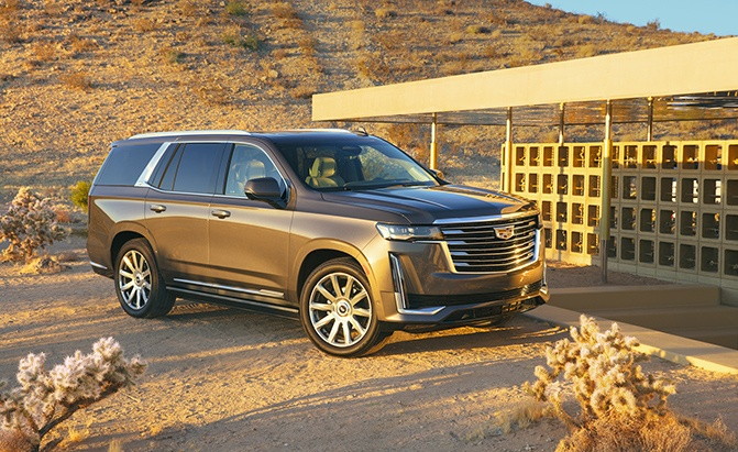 Cadillac Unveils 2021 Escalade with 420 HP, Curved OLED Screen and 36-Speaker Sound System