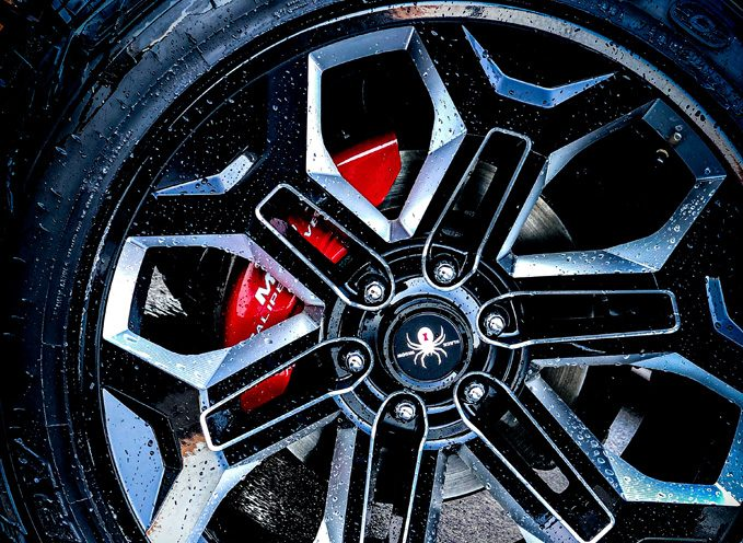 A set of caliper covers can completely change your car's look.