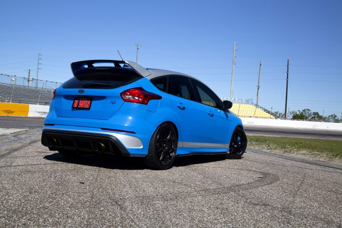 The 2017 Ford Focus RS from Dream Giveaway is fully track ready.