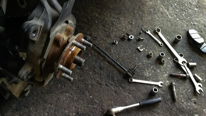 You'll need the proper tools in order to do a DIY brake replacement.