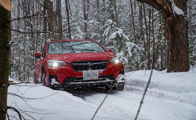 Testing the 2020 Subaru Lineup in Canadian Winter