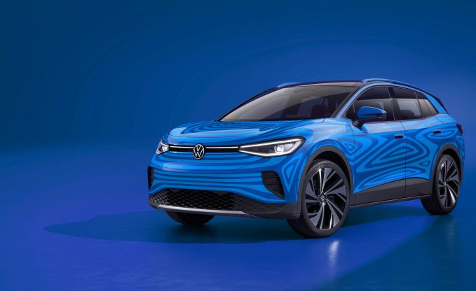 2021 Volkswagen ID.4 Electric SUV Confirms Its Name