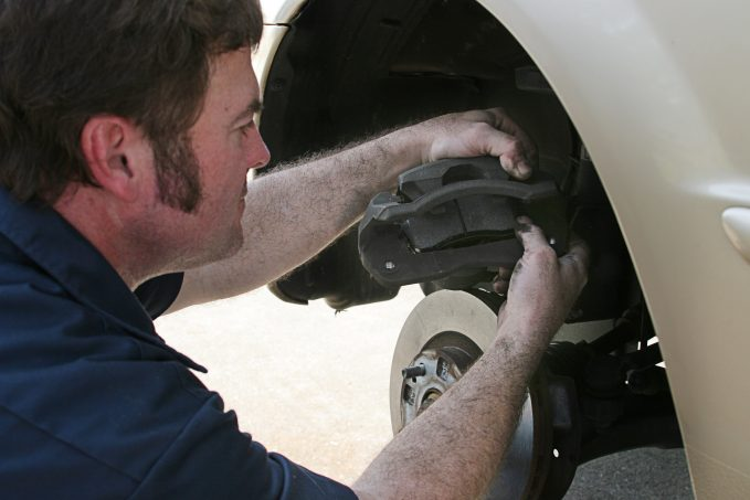 Wondering how to check brake pads? Let's start with the simplest, most obvious method: get up close and personal with your brakes.