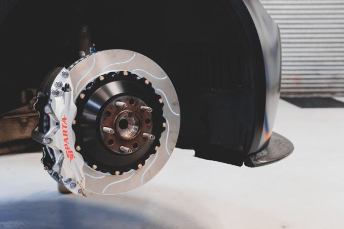 The high-performance brakes from Sparta Evolution makes the company a perfect partner for GEAR Racing.