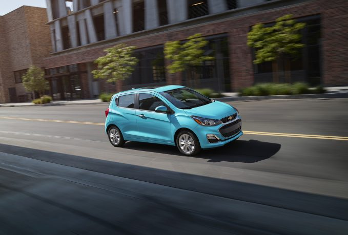 2021 Chevrolet Spark in Mystic Blue Pearl